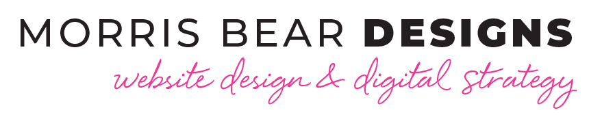 Morris Bear Designs - Wordpress Designer for Women in Business