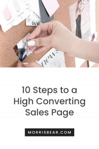 Build Sales Pages that Convert - Templates and Design Examples