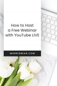 How to Host a Free Webinar on Youtube Live 2020