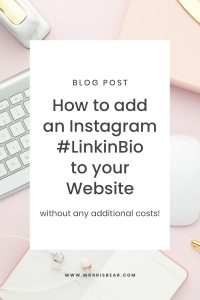 Free Alternative to Linktree - How to add an Instagram LinkTree to your Website for Free!