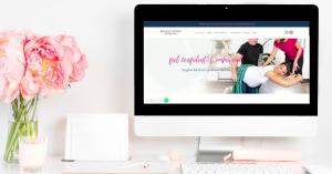 Kate Vivian Bright Mums Website Design by Morris Bear Designs