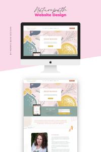 Organic Feminine Website Design for Kathleen Murphy Naturopath